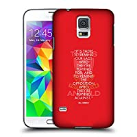 オフィシャル Liverpool Football Club リマインダー Bill Shankly Quotes Samsung Galaxy S5 / S5 Neo 専用ハードバックケース