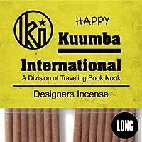 クンバ お香 石鹸をブレンドしたようなフローラル系の人気の香り 15本入り レギュラーサイズ Happy インセンス KUUMBA