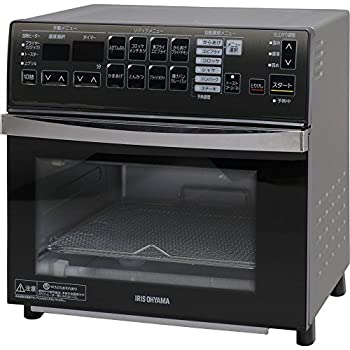 アイリスオーヤマ スチームオーブン オーブントースター 4枚 リクック 自動調理 シルバー FVX-M3B-S