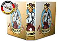 バインダー 2 Ring Binder Lever Arch Folder A4 printed Oktoberfest