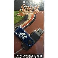Swivel USB Drive 8GB - Bucknell Bison - Dark Blue [並行輸入品]