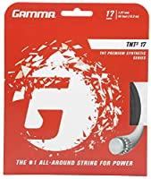 Gamma tnt216G Tennis String 17G - Single Set (40 Feet)