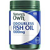 Nature's Own ODOURLESS Fish Oil 1000mg Capsules 400
