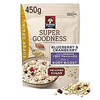 [Quaker ] クエーカーオーツ麦スーパー穀物ミックスベリーのお粥の450グラム - Quaker Oat Super Grains Mixed Berries Porridge 450g [並行輸入品]