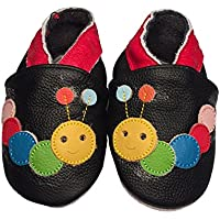 Baby Rae Infant/Toddler Caterpillar Soft Sole Leather Shoes