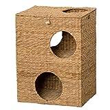 クロシオ キャットプレイハウス 幅43cm 猫ちぐら つぐら キャットハウス 028646