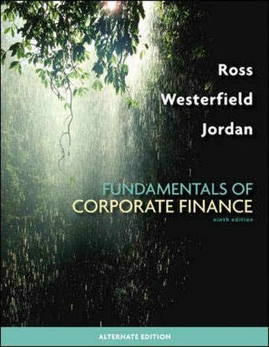 Download Fundamentals of Corporate Finance Alternate Edition 0077246128