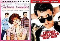 John Hughes 80's Comedy Bundle: Sixteen Candles & Ferris Beuller's Day Off 2-DVD Set
