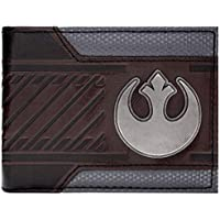 Star Wars Rebel Alliance Starbird Brown ID & Card Bi-Fold Wallet