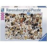 1000ピース ジグソーパズル  犬のコラージュ Hunde Collage  (70 x 50 cm)