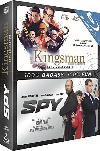 Coffret comédies d'espionnage 2 films : kingsman, services secrets