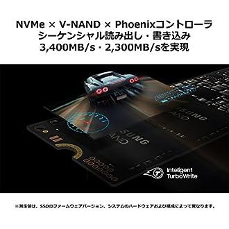 Samsung SSD 500GB 970 EVO M.2 Type2280 PCIe3.0×4 NVMe1.3 5年保証 正規代理店保証品 MZ-V7E500B/EC