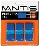 MANTIS(マンティス) PERFORMA TAC(パフォーマタック)、0.5mm薄め、ウエットオーバーグリップテープ、3本入り、ブルー **-MNT-OG