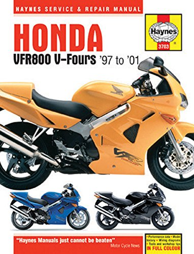 Honda VFR800 V-Fours '97-'01 (Haynes Service & Repair Manual)