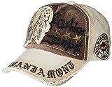 LOLONG メンズ 帽子 シンプル おしゃれ キャップ サイズ調整