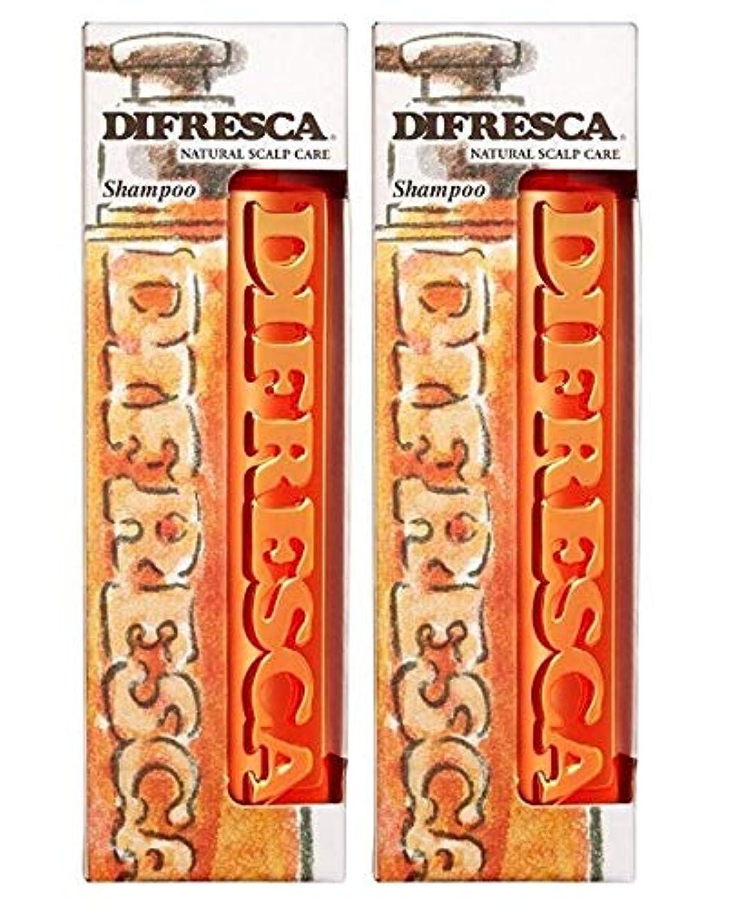 誘惑する魔女誰の【2本セット】 ディフレスカ 薬用ナチュラルスカルプ シャンプー ポンプ 500ml