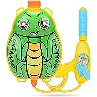 KOBWA 水鉄砲 バックパック式 リュックサック式 背負う 夏休み 水遊び 子供のおもちゃ キッズ マンティス