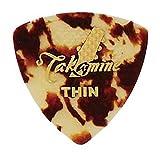 TAKAMINE P1T THIN セルロイド トライアングルピック×10枚