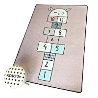 LIQICAI ジョイントマット フロアマット 子供プレイマットベビープレイマット両面 防水 滑り止め 子供の遊びマット カーペット 幼児の赤ちゃんのために、 特大 (Color : A, Size : 80x160cm)