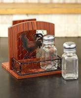 (Multicolor) - The Lakeside Collection Country Kitchen Napkin Holder- Rooster