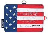 Bandiera パスケース USA ナショナルフラッグ 【アメリカ 星条旗 定期入れ ラゲッジタグ リール グッズ 雑貨】 10708