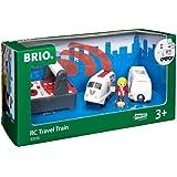 Brio 33510 RC Travel Train, 4 Pieces