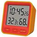 motoDESIGNその他 温湿度計 DH01-OR オレンジの画像
