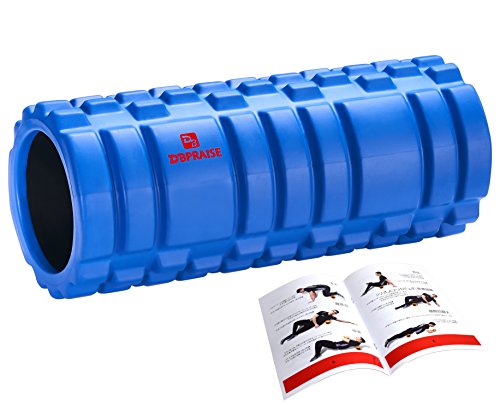 DB Praise フォームローラー Foam Roller 9色 スポーツ トレーニング ストレッチ 器具 解説書付き (G Blue)