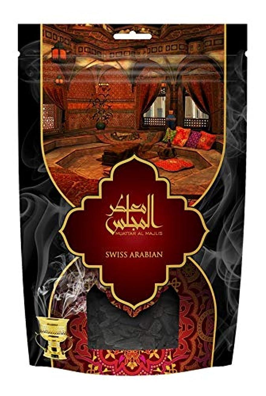 製造業照らすトレッドswissarabian Muattar al Majlis (250g/.55 LB) Oudh Bakhoor Incense
