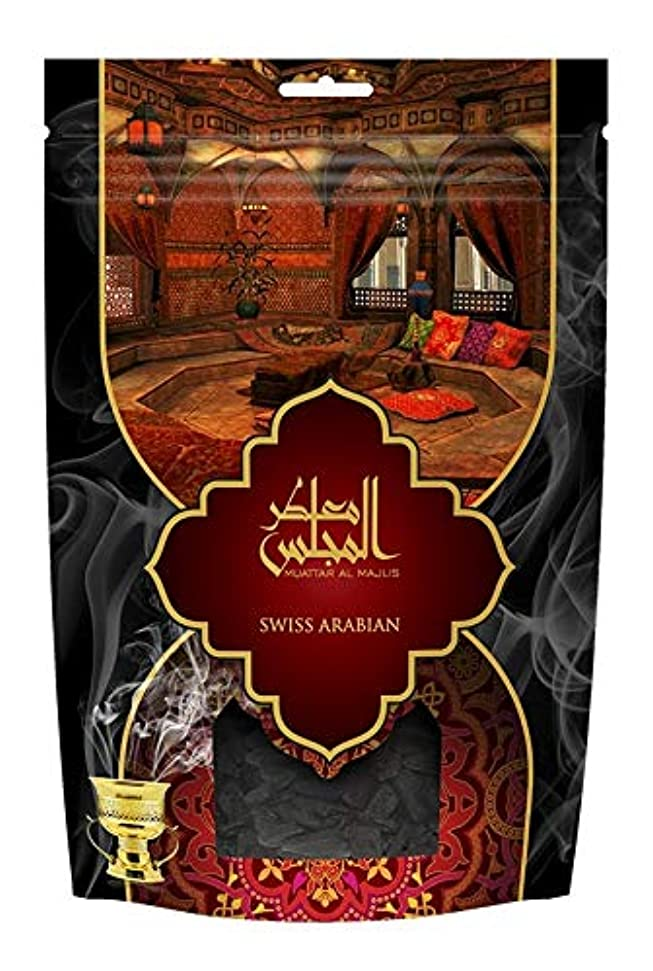空気飢貞swissarabian Muattar al Majlis (250g/.55 LB) Oudh Bakhoor Incense