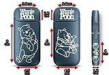クマのプーさん アイコスカッティングステッカー iqos アイコスシール glo グロー iPhone アイフォン スマホ スマートフォン シール 白