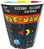ティーズファクトリー タンブラー パックマンゲーム H8.7×Φ8.3cm パックマン Wプリントメラミンカップ PC-5525298GM