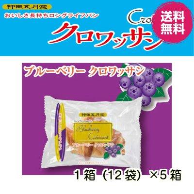 【お取り寄せ商品】 (株)神田五月堂 ブルーベリークロワッサン 5箱(60袋)