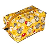 ペットラバーズ HappyFabric キャラメルポーチ CP-113Y アンモニャイト 猫 黄色