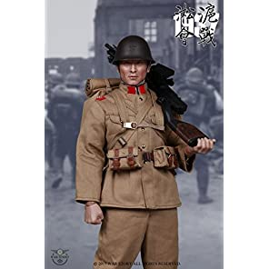 WAR STORY 1/6スケール アクション フィギュア 第二次世界大戦 日中戦争 第二次上海事変 1937 日本陸軍部隊 十一年式軽機関銃 シューター