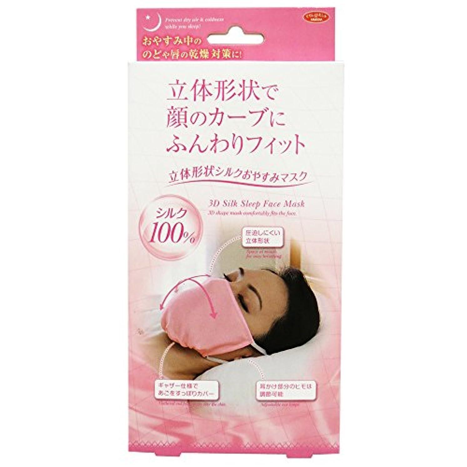 お別れデザイナーカーペットアイメディア 立体形状シルクおやすみマスク