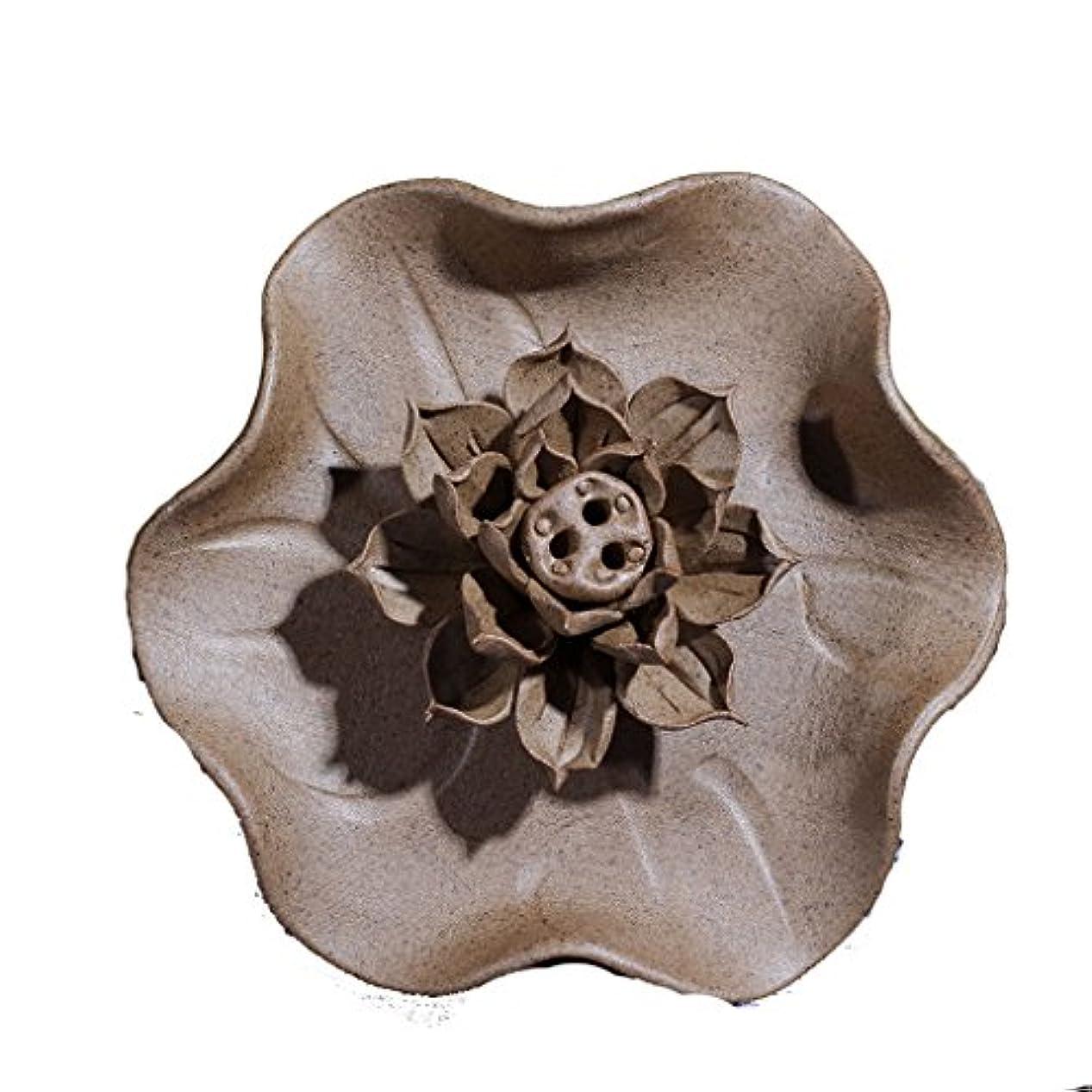 リーン神のフォーカス(ラシューバー) Lasuiveur 香炉 線香立て 香立て 職人さんの手作り 茶道用品 おしゃれ  木製 透かし彫り