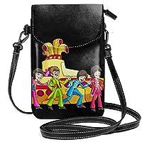 レディース 可愛い ショルダーバッグ The Beatles 小さミニ 2WAY 斜め掛け 携帯電話バッグ 女性 大容量 多機能 財布 プレゼント 毎日 通勤 デート