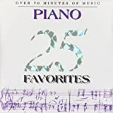 25 Piano Favorites by Various (1996-05-03)