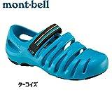 montbell キャニオンサンダル 〔男女兼用 シューズ サンダル〕 (ターコイズ):1129392