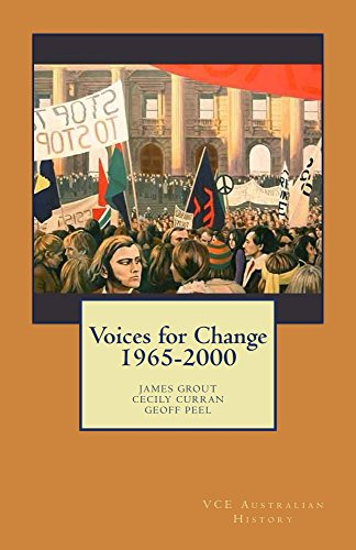 Voices for Change 1965-2000 by [Grout, James, Curran, Cecily, Peel, Geoff]