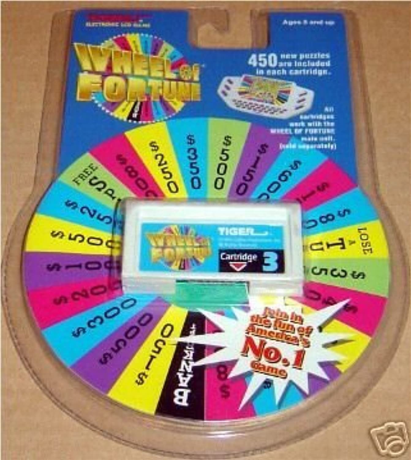 Wheel Of Fortune Cartridge #3 by Tiger [並行輸入品]