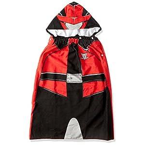 [バンダイ]ルパンレンジャーVSパトレンジャー 変身フード付きマキタオル ボーイズ ホワイト 日本 フリー (FREE サイズ)