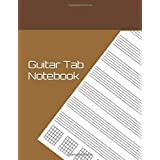 Guitar Tab Notebook: Blank Music Journal for Guitar   Music Notes - 120 Pages
