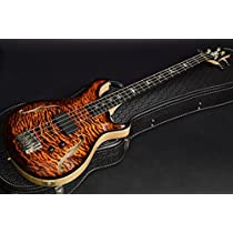 Paul Reed Smith Private Stock #5911 Guitar of the Month -January- Hollowbody Bass 4 Electric Tiger Smoked Burst ポールリードスミス