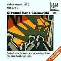 Giornovichi: Violin Concerto Nos. 3, 8 & 9, Vol.2