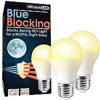 MiracleLED 604666 3W ブルー ブロック電球 2 Pack 604592 2
