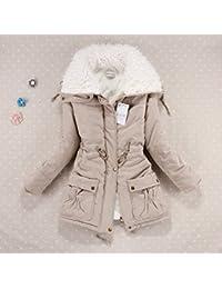 (タラコゾ) TARACOZO コットンジャケット オーバー 保温 防寒 学生 通勤 かわいい 無地 レディース コート 冬