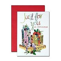 クリスマスカード 「スパンコール ノエル」 16 ギフトボックス