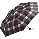 ワールドパーティー(Wpc.) 雨傘 折りたたみ傘 ワインチェック 58cm レディース メンズ ユニセックス MSM-064